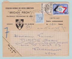 Brigade Piron, FNAC, Féderation Nationale Des Anciens Combattants  Liège, Luik - Sobres