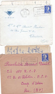 Correspondance D'un Parachutiste Du 18eme RCP 1958/1959 - Lot De 2 Courriers - N° 2 - Documentos