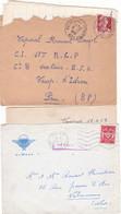 Correspondance D'un Parachutiste Du 18eme RCP 1958/1959 - Lot De 2 Courriers - N°3 - Documentos