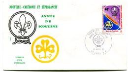 Nouvelle Calédonie - FDC Yvert PA 223 Scoutisme - X 1003 - FDC