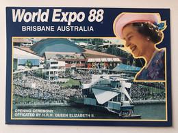 WORLD EXPO 88 BRISBANE , AUSTRALIA The Arrival Oh HRH Queen Elizabeth II - Case Reali