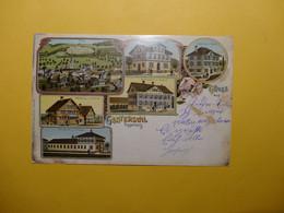 Gruss Aus Ganterswil 1904 - Litho / Mehrbildkarte (9071) - SG St. Gall