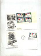 Lettre Fdc 1966 Carré Sipex + Seul - 1961-1970