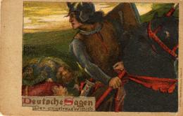 ILLUSTRATEUR Hans Rühm  Deutsche Sagen Der Ungetreue Wittich - Altre Illustrazioni