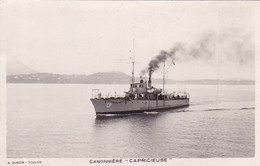 CANONNIERE CAPRICIEUSE - Guerra
