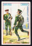 CHROMO Chocolat LOUIT Frères  Regiment De Grenadiers  Armee Russe Infanterie Erivan Prince Souwaroff - Louit