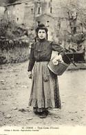CORSE - TYPE DE FEMME CORSE D''Ucciani (près De Tavera, Vero, Bocognano) - 1914 - Andere Gemeenten