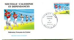 Nouvelle Calédonie - FDC Yvert PA 256 Cricket - X 1029 - FDC