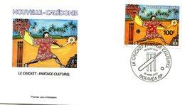 FDC Nouvelle-Calédonie Yvert 865 - Cricket - R 5478 - FDC