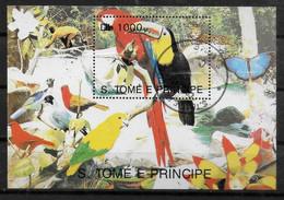 SAINT THOMAS ET PRINCE  BF Oblitere Oiseaux  Toucan - Other