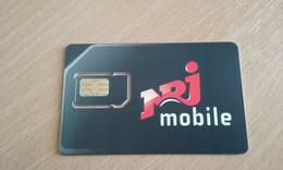 JOLIE CARTE GSM SIM NRJ MOBILE T.B.E !!! - Otros