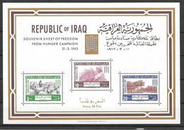 Iraq Sheet 1970 Mnh ** United Nations - Irak