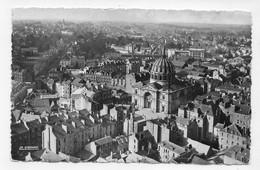 NANTES EN 1955 - VUE GENERALE PRISE DU TRANSBORDEUR VERS CHANTENAY - FORMAT CPA  VOYAGEE - Nantes