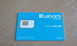 JOLIE CARTE GSM SIM LEBARA T.B.E !!! - Otros