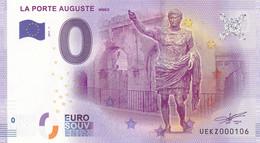 """30 - FRANCE / Billet Touristique / LA PORTE AUGUSTE... 2017-1 """". - Essais Privés / Non-officiels"""