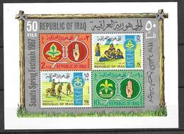 Iraq Sheet Scouts Mnh ** 11 Euros 1967 - Irak