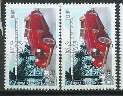 [45] Variété : N° 3321 Hispano-Suiza Véhicule Doublé + Normal ** - Varieties: 2000-09 Mint/hinged