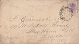AFRIQUE DU SUD TRANSVAL ENV SANS LA LETTRE 1901 N°23 FELDPOST OFFICE - Transvaal (1870-1909)