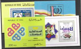 Iraq Lot Of 4 Sheets Mnh ** 22 Euros For 15% - Irak