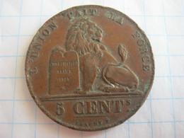 Belgium 5 Centimes 1859 - 03. 5 Centimes