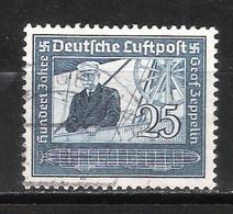 Reich Poste Aérienne N° 57 Oblitéré - Aéreo