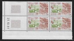 FRANCE SERVICE N°66** UNESCO COIN DATE DU 23/10/1981 - 1980-1989