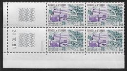 FRANCE SERVICE N°65** UNESCO COIN DATE DU 20/10/1981 - 1980-1989