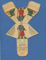 Rare Collection Fromage à Tartiner Gerber Zouave Carton Emballage Image Decouper Plier Coller Soldat - Altri