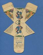 Rare Collection Fromage à Tartiner Gerber Garde Française  Carton Emballage Image Decouper Plier Coller Soldat - Altri