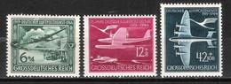 Reich Poste Aérienne N° 59 à 61 Neufs ** - Aéreo