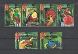 ROMANIA  2019   Exotic Birds - Oiseaux Exotiques - Exotische Vögel- Set 6 Val With Border   MNH** - Other