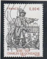FRANCE 2013 CHARLES DE GONZAGUE  OBLITERE YT 4745                               - - Usati