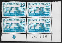 FRANCE SERVICE N°93/95** BATIMENT 3 COINS DATES - 1980-1989