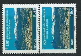 [45] Variété : N° 4457 Nice Bistre-jaune Au Lieu De Bistre-orange + Normal ** - Variétés: 2010-.. Neufs
