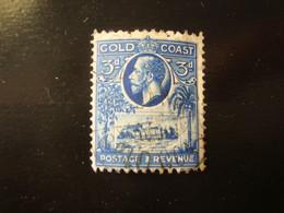 TIMBRE GRANDE BRETAGNE GOLD COAST 3 PENNY 1928 - Goldküste (...-1957)
