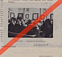 SCHAFFEN   - WINTERHULP  -  GEDRUKTE AFBEELDING  (TIJDSCHRIFT 1941) - Unclassified
