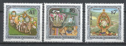 Österreich/Austria Mi. Nr.: 2041 - 43  Postfrisch (oep920) - 1991-00 Nuevos & Fijasellos