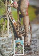 CM-Carte Maximum Card # France-2002 (N°Yvert 3481) # Sport - Cyclisme,cycling,Radsport # Course Paris-Roubais , Roubais - 2000-09