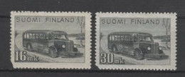 (S2178) FINLAND, 1946-1947 (Definitives. Post Bus). Complete Set. Mi ## 329-330. MNH** - Neufs