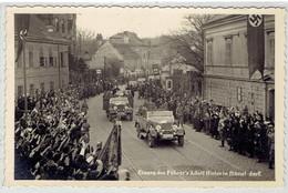 Propaganda NSDAP - Deutsches Reich - Einzug Des Führer's Adolf Hitler In Hütteldorf - Wien - Österreich - War 1939-45