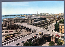°°° Cartolina - Genova Stazione Marittima E Porto Viaggiata (l) °°° - Genova (Genoa)
