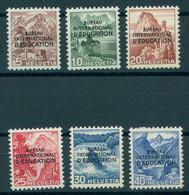 SWITZERLAND, INTERNATIONAL OFFICE OF EDUCATION SET 1948 LH - Officials