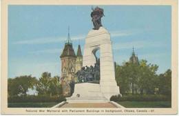 CANADA 1930 Superb Mint Col. Pc National War Memorial With Parliament Buildings, OTTAWA, Ontario - Ottawa