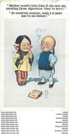 WW CARTE HUMORISTIQUE REPRESENTANT DES CHINOIS: Je Voudrais Essayer, Mais J'ai Peur.... - Humour