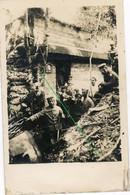14-18.WWI Fotokarte-Deutsche Soldaten.Bois Des Chevaliers.Trench MG Stand .33.RD.k.b.8.Inf.Div.Combres Bunker - Sin Clasificación