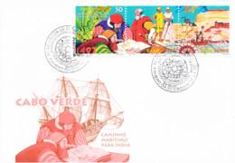 Cabo Verde - 1998 - 500th Anniversary Of Vasco Da Gama's Expedition To India - Cape Verde
