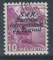 JJ-/-137-YVERT N° 107, ZUMSTEIN SERVICE B.I.T. N° 41y - OBL., COTE 3.00 €, PAPIER LISSE, VOIR LES  IMAGES POUR DETAILS - Officials