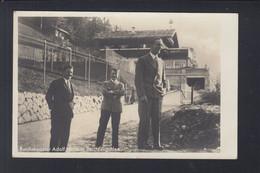Dt. Reich AK Hitler Goebbels Röhm(?) In Berchtesgaden 1933 - Historical Famous People