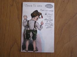 HAN SUR LESSE Veux Tu Voir Han Sur Lesse Carte à Système Belgique Commune De Rochefort Carte Postale Postcard CPA - Rochefort