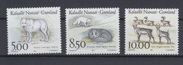 Greenland 1993 - Michel 239-241 MNH ** - Unused Stamps